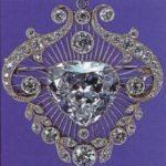 «Куллинан 5» - украшение, имеющее форму сердца, массой в 18,8 карат.