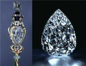 Алмаз Куллинан является самым крупным алмазом в мире