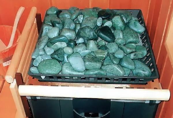 какие камни подходят для каменки в баню