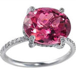 Кольцо с рубелитом станет отличным талисманом и украшением