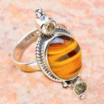 Ценится благотворное действие тигрового глаза на здоровье человека, носите кольцо