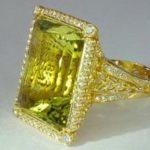 Перстень с гелиодором обладает магическими свойствами
