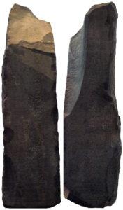 Левая и правая стороны розеттского камня