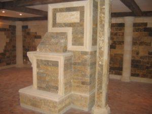 Доломит это достойный облицовочный материал для декорирования интерьера