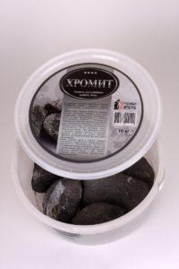 Камни хромита используют для кладки печей в банях и саунах