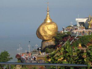 Золотой камень в Мьянме, Пагода Чайттийо, Бирма