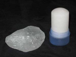 Камень дезодорант алунит