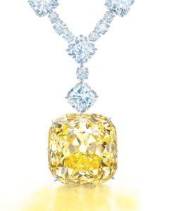 Драгоценное ожерелье с бриллиантом Тиффани